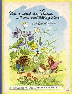 Von den wunderlichen Leuten und der vier Jahreszeiten. Illustration par Fritz Baumgarten
