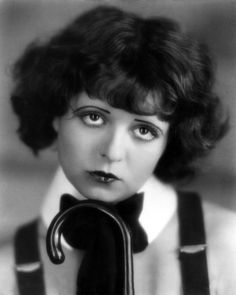 Clara Bow: really have not seen her in much other than still shots...she was a wild child in the early movies.