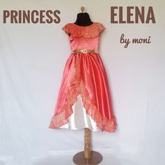Princess Elena Costume by monikids on Etsy