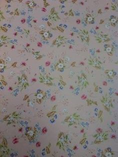 Rococco - Pink  1:12 scale doll's house wallpaper