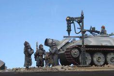 warhammer 40k blinde: Dkok Tanks