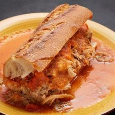 Pati Jinich » Season 7 Mexican Cooking, Mexican Food Recipes, New Recipes, Ethnic Recipes, Carnitas, Tortas Ahogadas Recipe, Patti Jinich Recipes, Patis Mexican Table