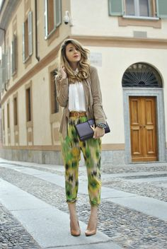 Scent of Obsession - Fashion Blogger daily style, travels and style tips : JUNGLE PRINT - OUTFIT