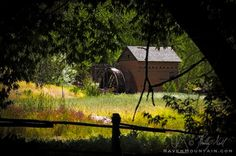 Sapello Mill, El Rancho de las Golondrinas, Santa Fe, New Mexico, USA