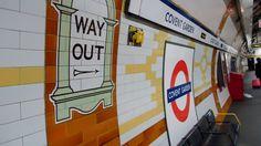 Covent Garden tube station.