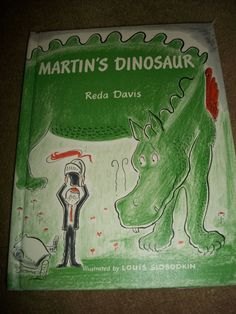 Vintage Children's hardcover book Martin's Dinosaur by ARMonaco9, $5.50