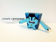 Ben 10 ultimate alien : ultimate cannonbolt papercraft