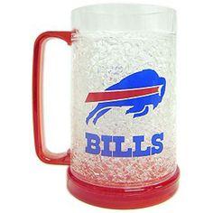 Buffalo Bills Crystal Freezer Mug
