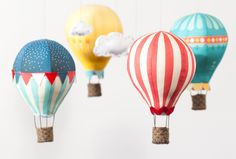 Hot Air Balloon Fabric Panels are back @ Craft Schmaft!  love these and all the possibilities!