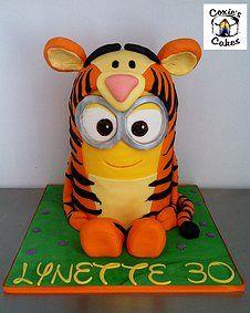 Tigger Minion cakes - Google Search