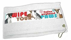 Italian Greyhound Paw Wipe Towel ** Read more  at the image link.
