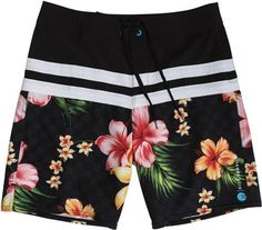 Its a hula party in your pants #floral #surf #billabong