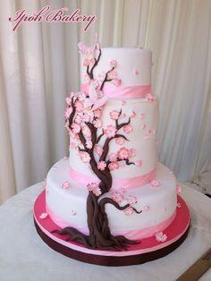 Cherry Blossom - by WilliamTan @ CakesDecor.com - cake decorating website