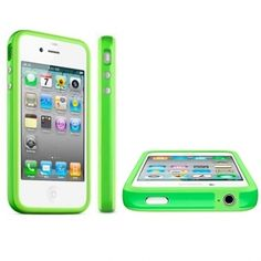 Apple iPhone 4 Bumper Green Original Iphone 4, Apple Iphone, Iphone Cases, Gadget, The Originals, Green, Blue, Products, Iphone 4s