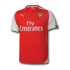 Arsenal Adult 2014/15 S/S Home Shirt at Arsenal Direct