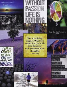 My One Little Word - Vision Board - Choose (1) - Scrapbook.com