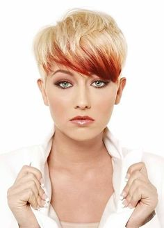 Hair Color for Short Hair! Ciana is a licensed accredited hair, make-up, skin pr. Hair Styles 2014, Medium Hair Styles, Short Hair Styles, Natural Hair Styles, Love Hair, Great Hair, Corte Y Color, Sassy Hair, Funky Hairstyles