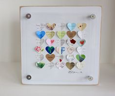 Great anniversary gift!  Use up all those old cards and letters you've sent to each other over the years....