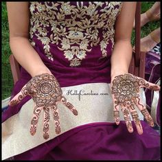 Wedding henna for a