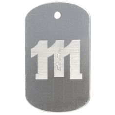 Order diamond engraved dog tags from LogoTags. The leader in dog tags. These custom tags are produced in the USA and can be at your door in a matter of days. Engraved Dog Tags, Custom Dog Tags, Dog Tags Military, Embossed Logo, Stainless Steel, Diamond, Dogs, Prints, Personalized Dog Tags