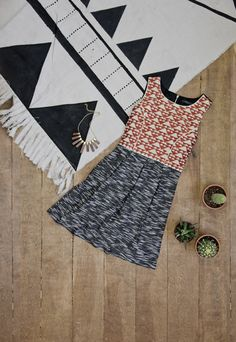 A lovely global print is an essential for any wardrobe!