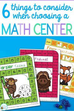 First grade math cen