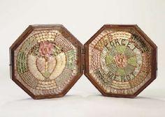 A 19th century double octagonal sailor's valentine