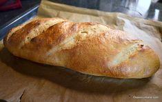 Franzela de casa reteta simpla - ca la brutarie | Savori Urbane Cooking Bread, Bread Recipes, Biscuits, Food And Drink, Homemade, Breads, Cupcakes, Home, Healthy Food