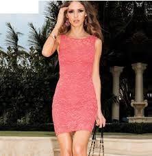 Resultado de imagem para vestidos rosa