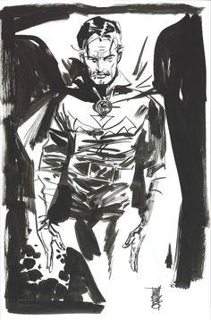 2008 Sketch Alex Maleev Dr Strange.jpg 527×800 pixels