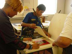 More printmaking at SAS!