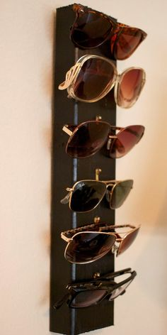 DIY Sunglasses Display