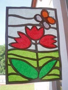Vyrob si sama - Jarní výzdoba oken pokojíčku