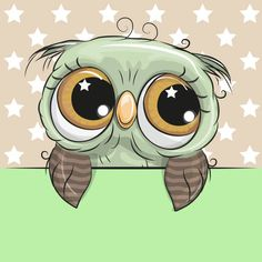 Illustration about Greeting card cute Cartoon Owl is holding a placard on a stars background. Illustration of mothers, letter, banner - 111115062 Cartoon Cartoon, Animals For Kids, Cute Animals, Baby Canvas, Owl Quilts, Kids Room Paint, Paper Owls, Free Cartoons, Baby Owls