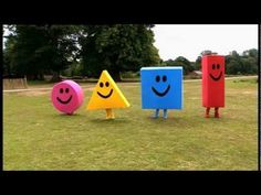 Mister Maker Comes to Town: The Shapes Dance - YouTube