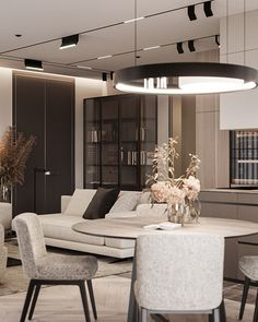- Most penthouse apartments are found in larger major cities like New York at the top of high-rise apartment buildings. Depending on the size of the apa. Penthouse Apartment, Apartment Interior, Apartment Living, Luxury Home Decor, Luxury Interior, Contemporary Interior, Luxury Apartments, Luxury Homes, Home Design