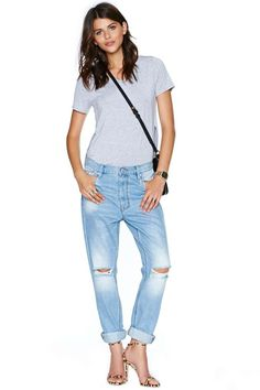 RES Denim Slacker Boyfriend Jean