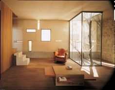 Example of corner glazing and cut window at end of main client corridor.   Image is Galvani House / Christian Pottgiesser – architecturespossibles