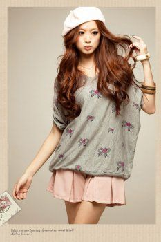 "Discover this look wearing Korean Blouse - ""floral in sunny day"" Frill Blouse, Floral Blouse, Korean Blouse, Korean Fashion Online, Blouse Models, No Frills, Feminine, Summer Dresses, Stylish"