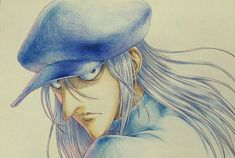 """Kite sketch by Takehiko Abiru, the animator who served as animation director on the """"Hunter x Hunter"""" end credits."""
