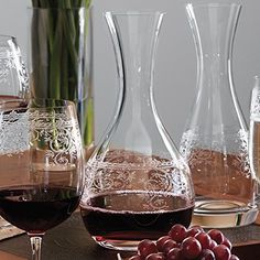 Lucca Etched Crystal Glass Decanter 1200 ml 17072 ** Want to know more, click on the image. (This is an affiliate link)