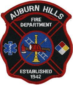 Auburn Hills Fire Department (NH)  Fire Patch   www.setcomcorp.com/fire.html
