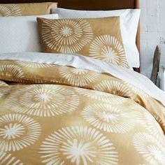 Honey Blossom Bedding Set, King, Maize