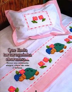 Artesanato com amor...by Lu Guimarães: Revista Bordado Russo nº 47 Punch Needle Patterns, Diy And Crafts, Weaving, Cross Stitch, Embroidery, Passion, Couture, Gallery, Russian Embroidery