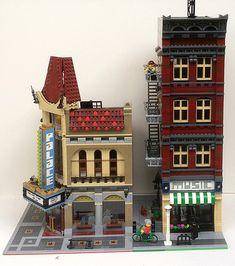 Minecraft Museum, Princess Makeup, Lego Pictures, Lego Modular, Lego Construction, Lego Architecture, Lego Creator, Music Store, Lego Moc