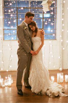 wedding ceremony ideas | wedding lighting inspiration | mr and mrs | #weddingchicks