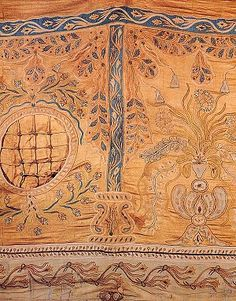 Calendario_novembre_n.4  Imperial tents were richly decorated, symbolising the power and splendour of the Ottoman sultans when away from their palaces. This early 19th century tent wall has floral decoration. Gilded leather is one of the materials used for the appliqué work. Imperial tent.  MILITARY MUSEUM – ISTANBUL