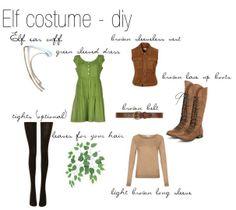 Elf costume DIY