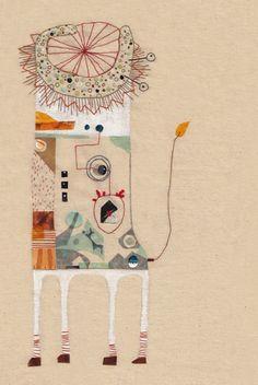 Lion Snail - Anna Lisa Bollini