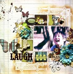 A Project by kaori_f312 from our Scrapbooking Gallery originally submitted 08/12/11 at 12:15 AM